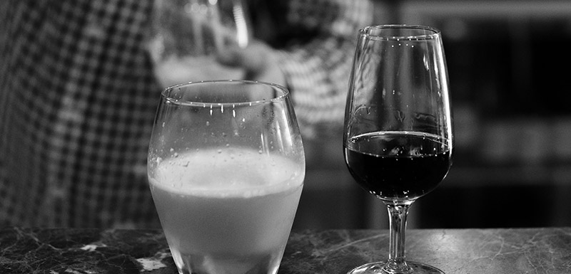 Whiskey bar and wine at Connoisseur Bar Oaks Cypress Lakes Resort