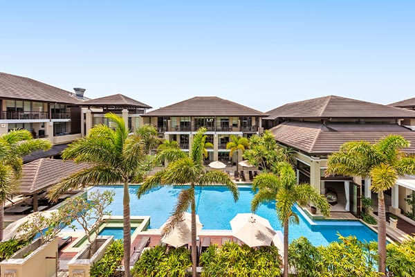 Oaks Santai Resort Casuarina 1 Bedroom Family View