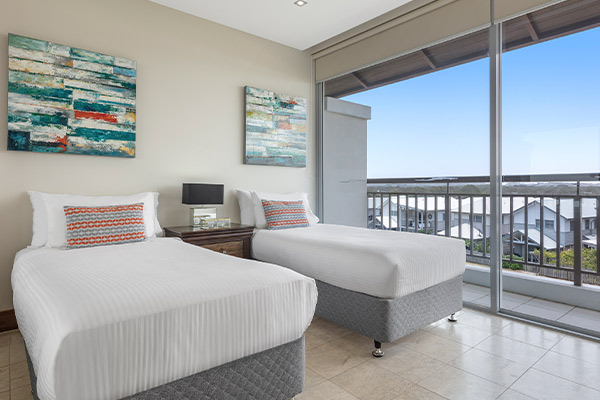 Oaks Santai Resort Casuarina 1 Bedroom Family Bedroom