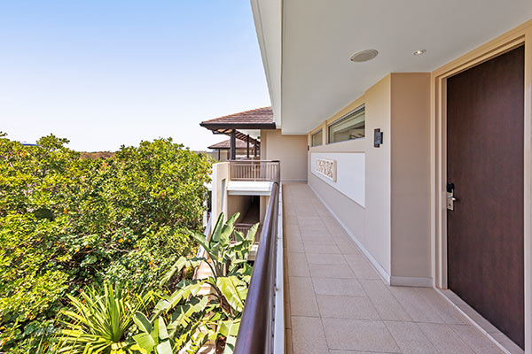 Oaks Santai Resort Casuarina Studio Courtyard