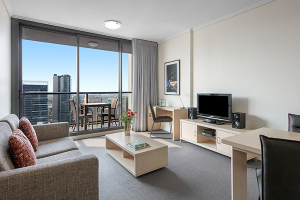 Oaks Brisbane on Charlotte Suites 1 Bedroom Executive