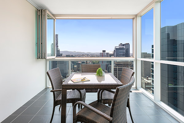 Oaks Brisbane Festival Suites 2 Bed Executive Balcony