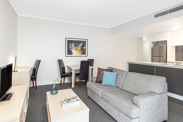 Oaks Brisbane Festival Suites 2 Bed Executive Living