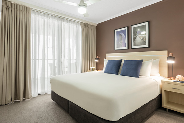 iStay River City two bedroom bedroom one 1