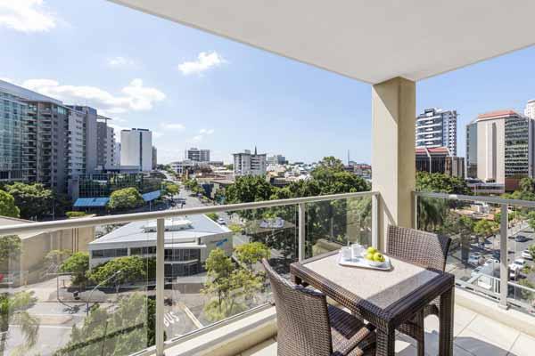 Oaks Brisbane Lexicon Suites 1 Bedroom Executive Balcony