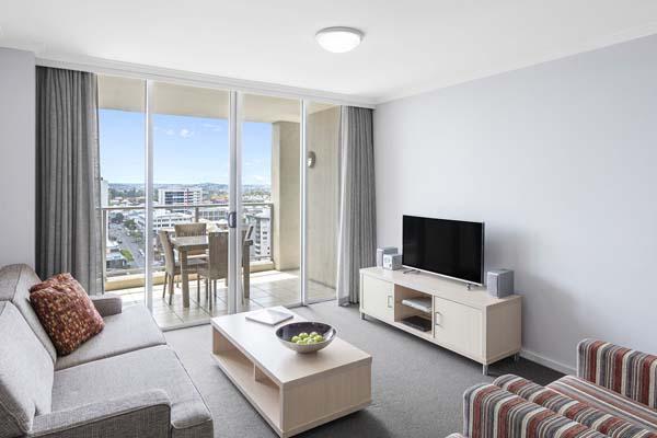 Oaks Brisbane Lexicon Suites 2 Bedroom Executive Living