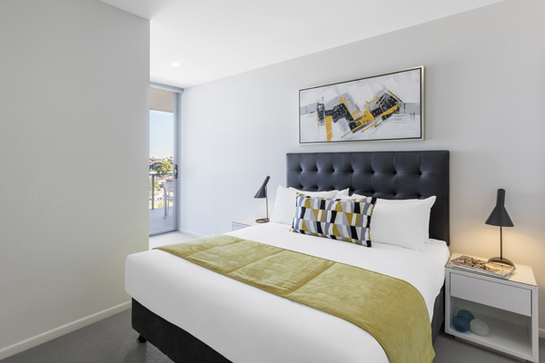 1 bedroom apartment with balcony at Oaks Woolloongabba hotel on OKeefe Street