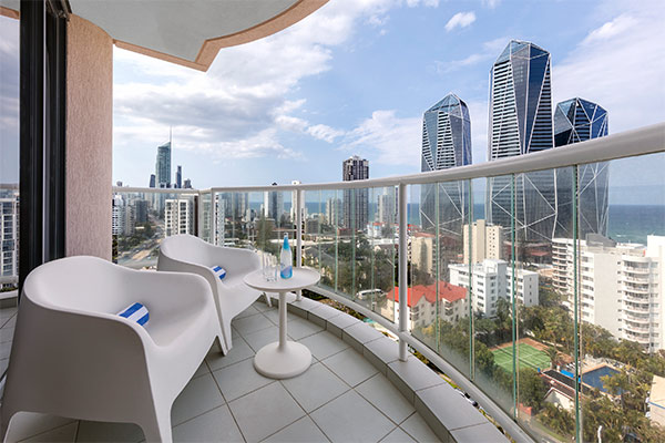 Oaks Gold Coast 1 Bedroom Ocean View Balcony