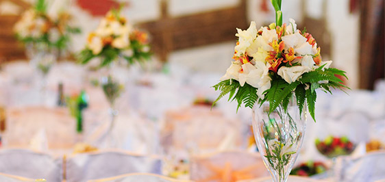 beautiful wedding reception with exquisite table settings and vegetarian catering options in Townsville, Australia