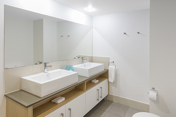 clean bathroom 2 bedroom resort room port douglas