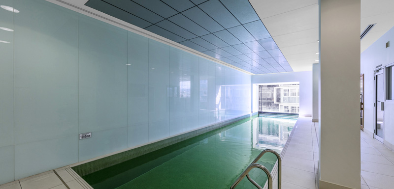 large indoor swimming pool for guests to use whilst staying at iStay Precinct hotel in Adelaide city