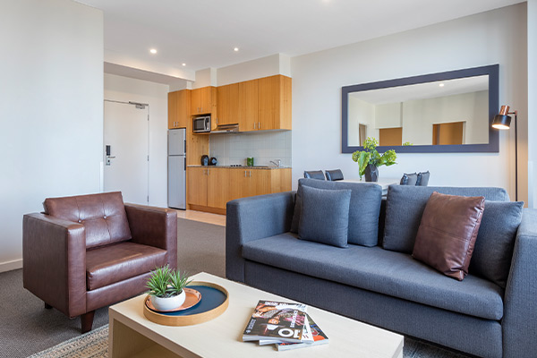 Oaks Melbourne on Market Hotel 2 Bedroom Premium Living