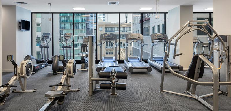 Oaks Melbourne on William Suites Gym