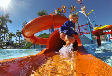 Oaks Oasis Resort in 'Holidays with Kids 2016 Top 10'