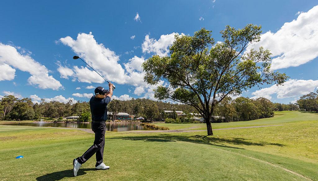 oaks cypress lakes resort golf swing