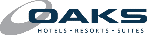 Oaks hotels, resorts & suites brand logo