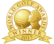 Australia best golf hotel 2017 winner oaks cypress lakes hotel Hunter Valley New South Wales Australia badge