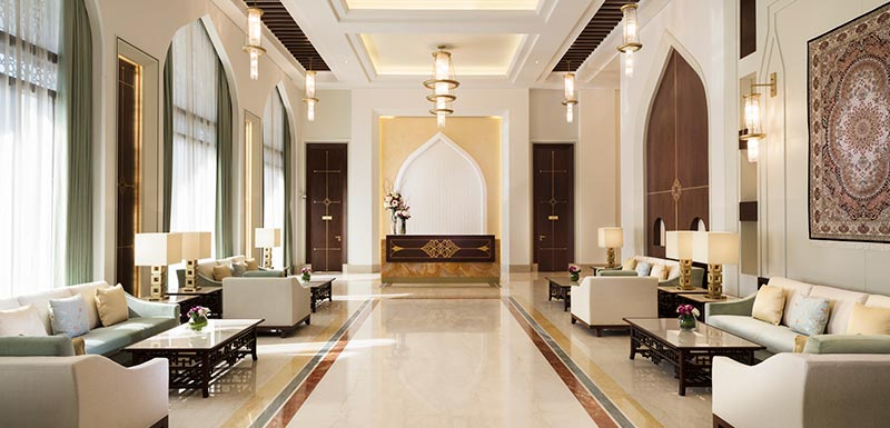 Al Najada Doha Hotel Apartments by Oaks - Lobby Lounge
