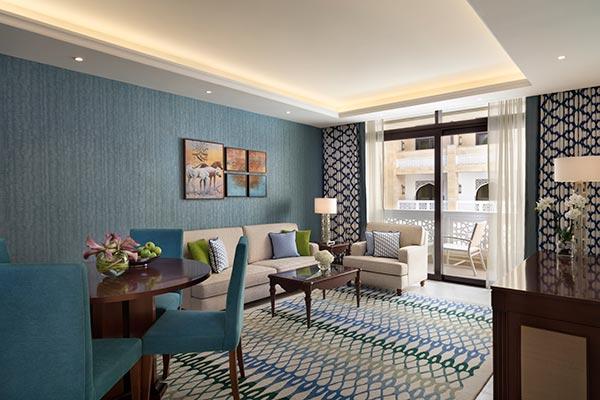 Al Najada Doha Hotel Apartments by Oaks - Two Bedroom Apartment