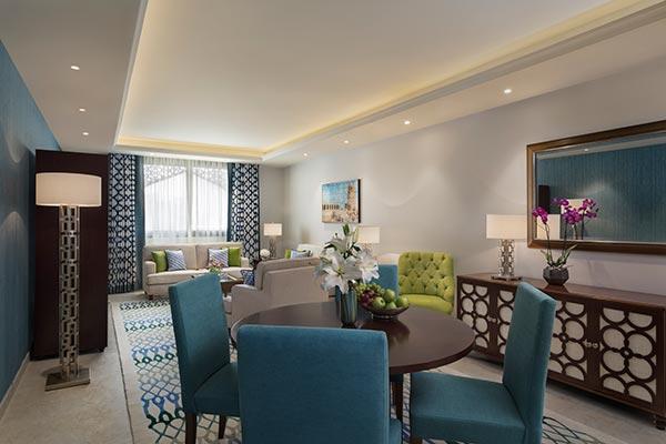 Al Najada Doha Hotel Apartments by Oaks - Two Bedroom Executive Apartment