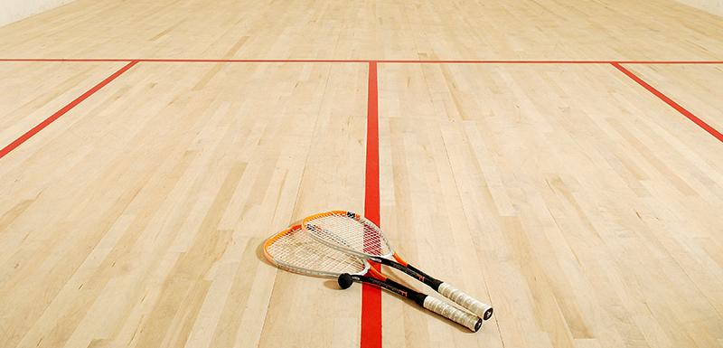 Squash Court at Oaks Liwa Heights