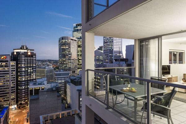 Oaks Lexicon Apartments Brisbane City Qld