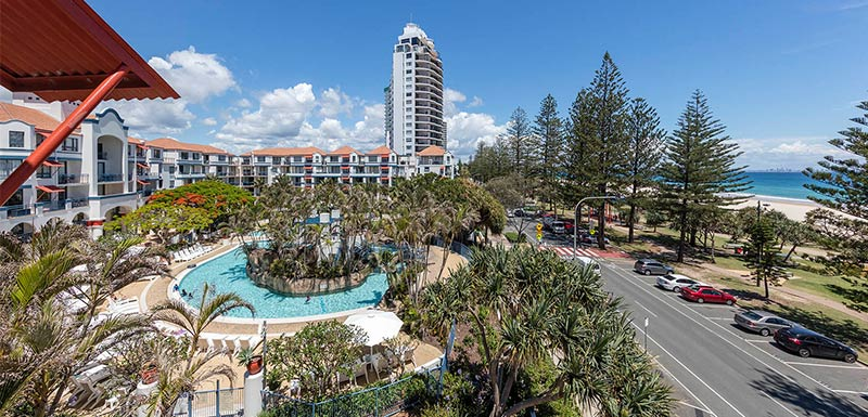 Coolangatta Hotel Oaks Calypso Plaza Gold Coast Official Site