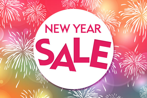 2018 NEW YEAR SALE
