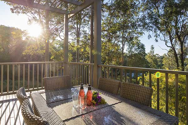 Oaks Cypress Lakes Resort 3 Bedroom Premier Villa Balcony