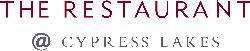 Oaks Cypress LakesThe Restaurant Logo