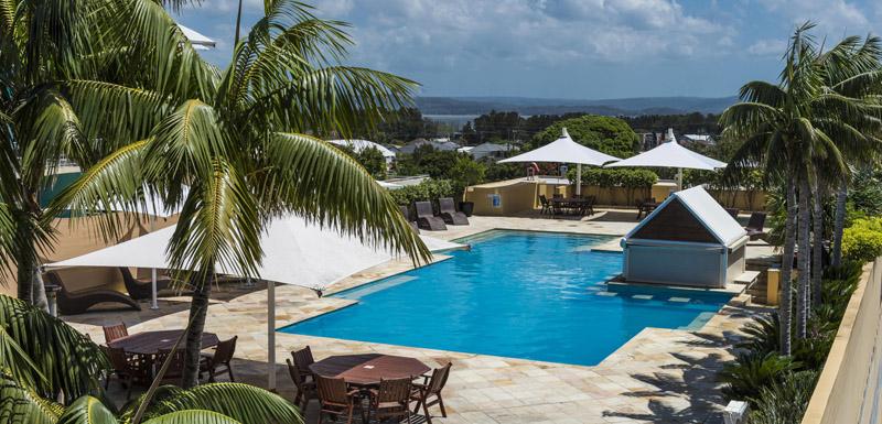 oaks waterfront resort swimming pool near beach The Entrance new south wales australia