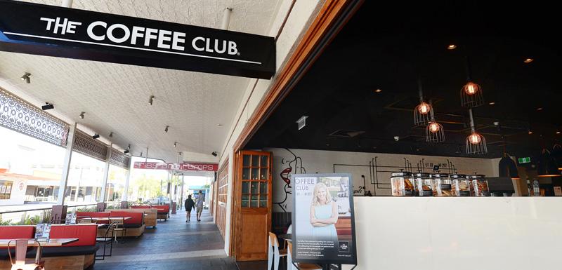 people enjoying coffee at The Coffee Club restaurant in Gladstone