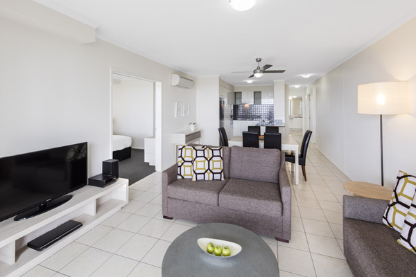 3 bedroom apartment with air con and wi-fi near the beach perfect for families visiting the Sunshine Coast, Queensland, Australia
