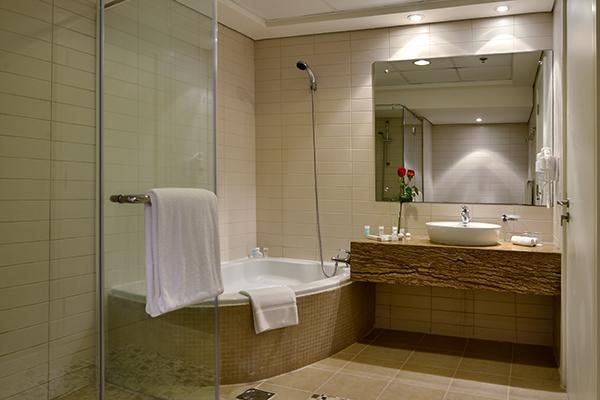 Bathroom in 2 Bedroom Apartment at Oaks Liwa Heights